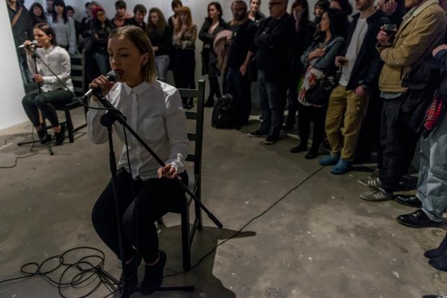 Justine McDonnell. MFA Belfast. Performance View 2016.