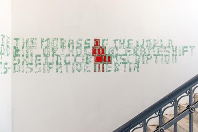 Joet O'Gorman. MFA Belfast. Installation View 2016.