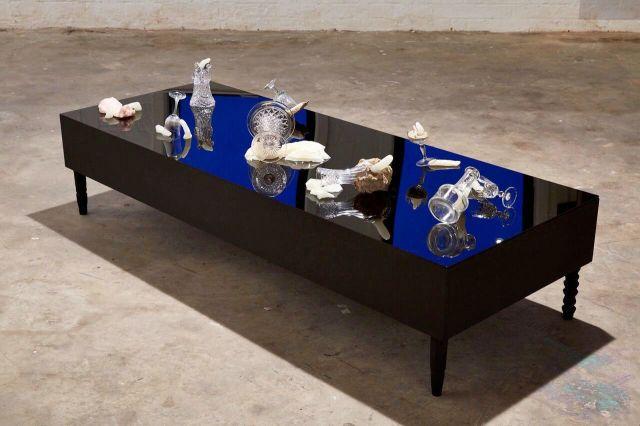 Matthew Bourree. Installation View. Transmit. MFA Interim show. Platform Arts. 2017