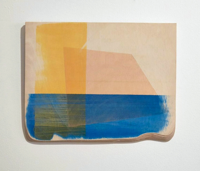 Siobhan McQuade. Installation Detail. Transmit. MFA Interim show. Platform Arts. 2017