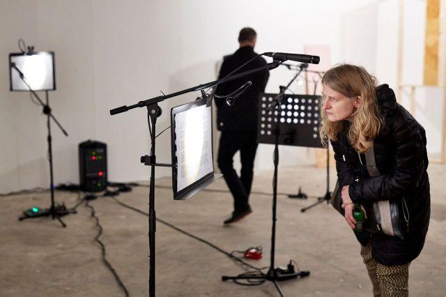 Justine McDonnell. Installation View. Transmit. MFA Interim show. Platform Arts. 2017
